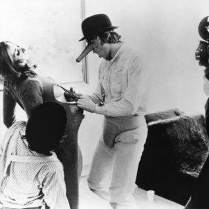 eltornillodeklaus La Naranja Mecanica A Clockwork Orange Stanley Kubrick ultraviolencia Alex drugos set making