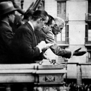 Neix Francesc Macià, primer president de la Generalitat republicana. Proclamació República catalana (14 04 1931). Font Arxiu d'ElNacional