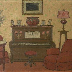 Interior amb piano Pere Torné Esquius (1)