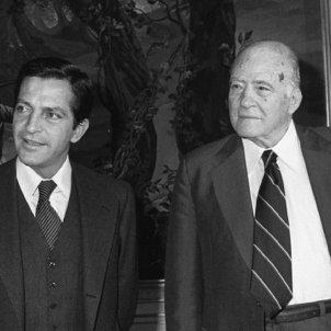 Suarez i Tarradellas. Vigilia de la restauració de la Generalitat. Font Arxiu d'ElNacional