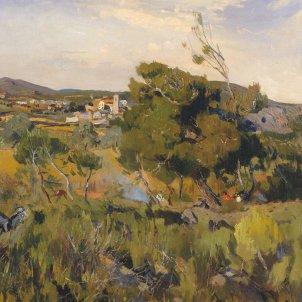 Paissatge de  Canyelles Joaquim Mir-MNAC