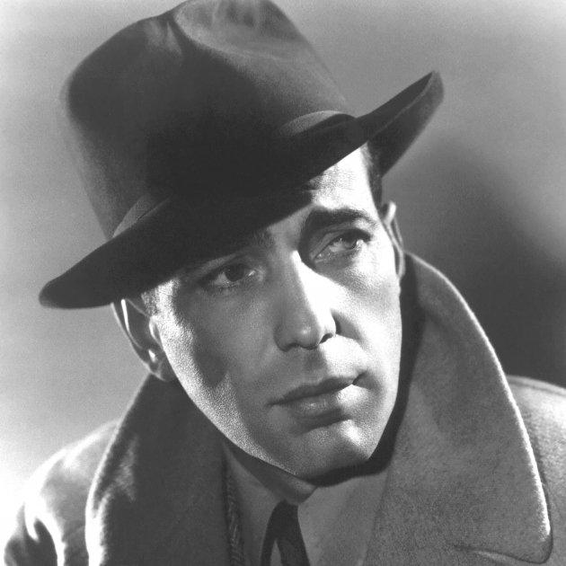 Humphrey Bogart 1940 The Minneapolis Tribune photo from Warner Bros