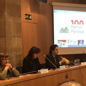 Presentació Any Pannikar - Institució de les Lletres Catalanes. Twitter.