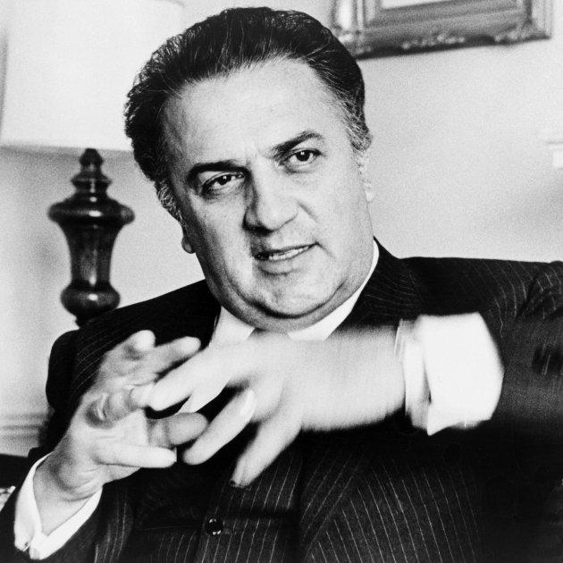 Federico Fellini Walter Albertin, World Telegram staff photographer - Library of Congress. New York World-Telegram & Sun Collection.