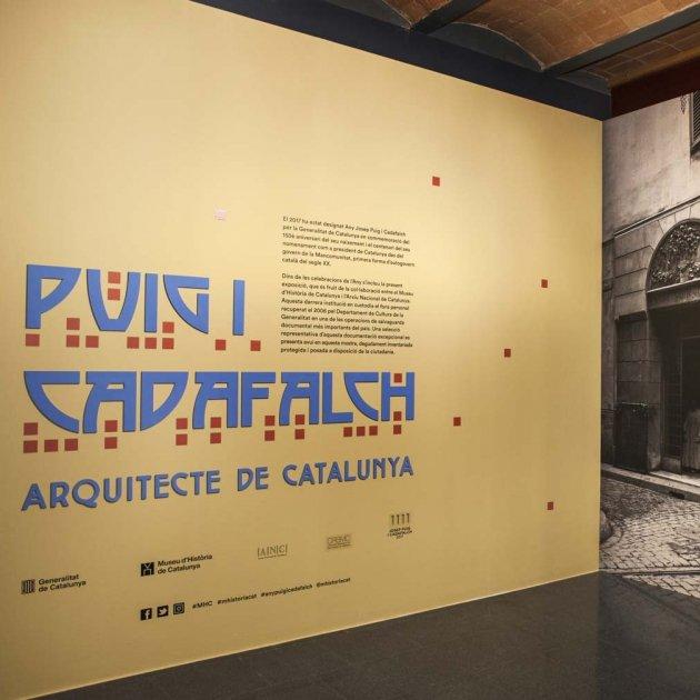 Exposició Puig i Cadafalch MHC