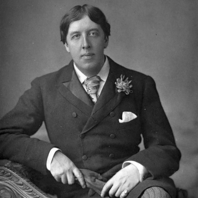 Oscar Wilde (1854 1900) 1889, May 23. Picture by W. and D. Downey