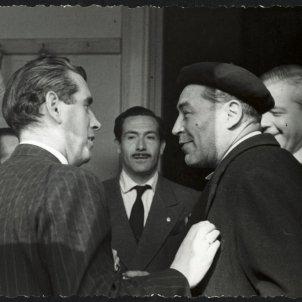 Josep Pla - Josep Vergés i Carles Sentís/Fons Josep Vergés