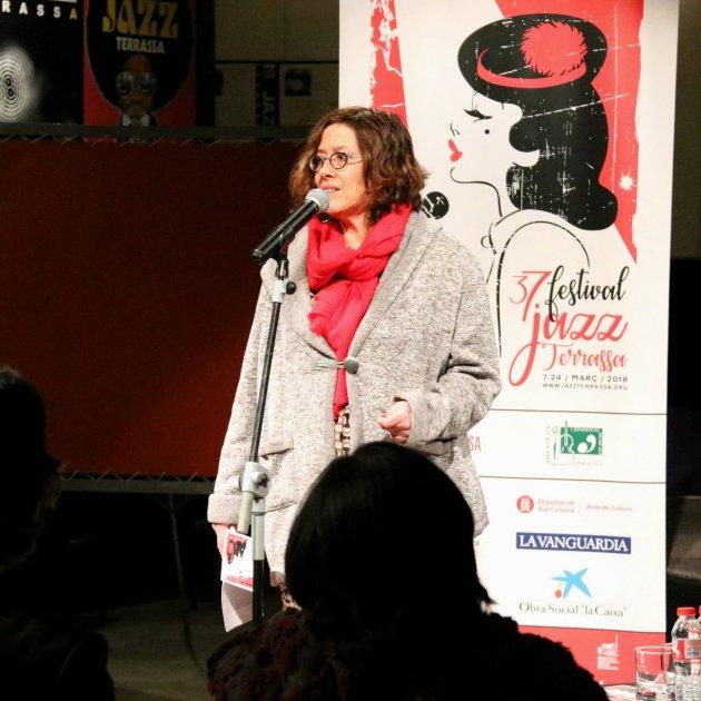 Susanna Carmona, directora del Festival de Jazz de Terrassa