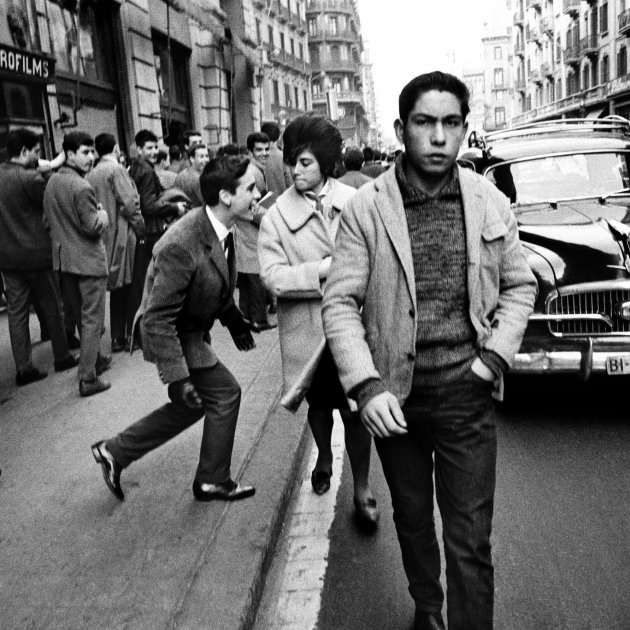 Xavier Miserachs. Via Laietana, Barcelona, 1962