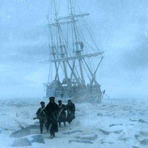 The terror barco hielo