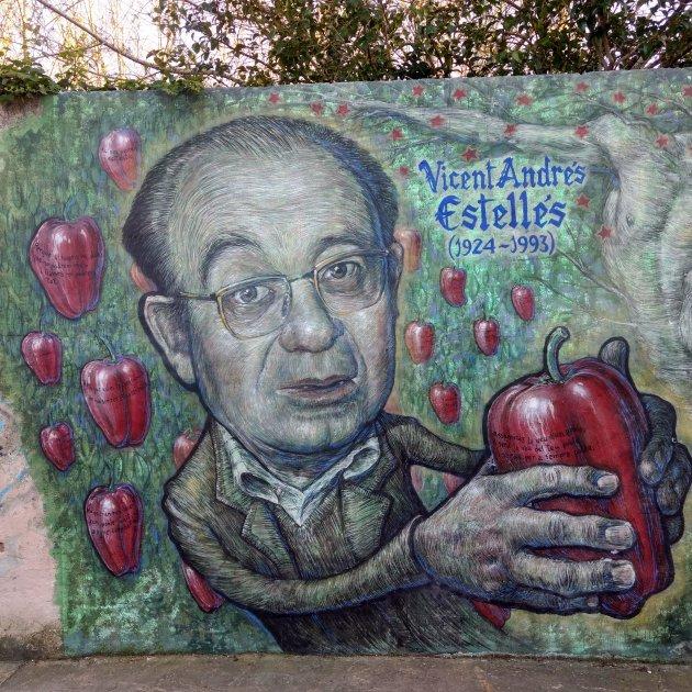Vicent Andrés Estellés Murals Espinar  Batà, Muro d'Alcoi / Francesc Fort