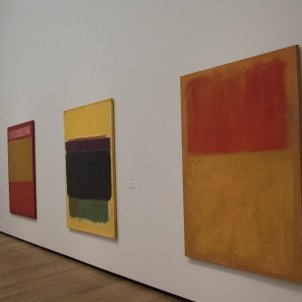Mark Rothko 'The Classic Paintings' -- Top Gallery East Building National Gallery of Art Washington (DC) 2016 Ron Cogswell