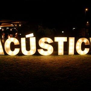 Cartel Acústica ACN