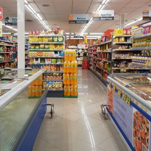 Supermercat a Gata de Gorgos, Marina Alta