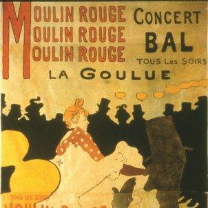 henri de toulouse lautrec caixaforum i moulin rouge la goulue i 1891 litografia col leccio particular obra social caixa