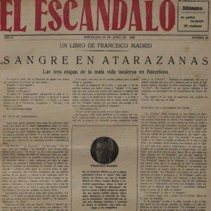 Francisco Francesc Madrid Escandalo Barcelona 1926