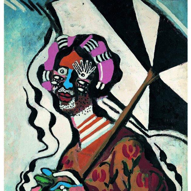 Francis Picabia, Femme à l'ombrelle. Fundació Mapfre. VEGAP