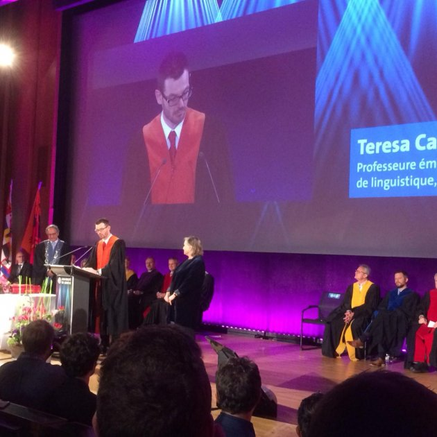 Maria Teresa Cabré honoris causa