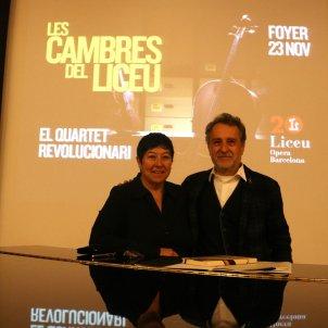Presentació Concerts de Cambra Liceu/ACN