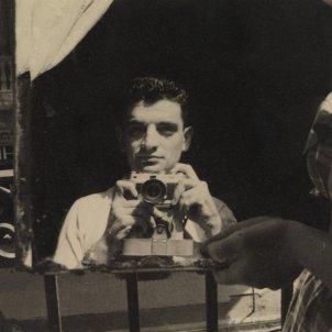 Autorretrat Joan Obiols, anys 50. Fundació Joan Brossa