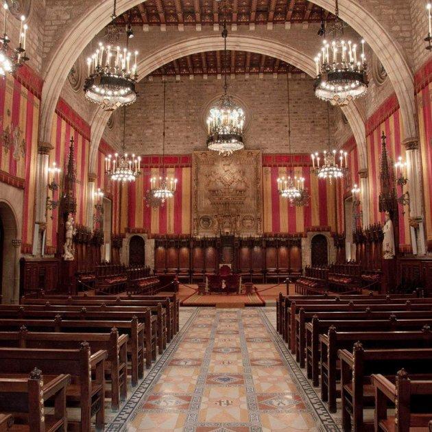Saló de Cent - Ajuntament de Barcelona / Oscar Valencoso