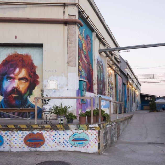 Bostik Murals premi Carulla Cristina Raso Boluda