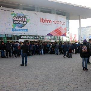 La primera jornada del Barcelona Games World al pavelló 2. ACN/Pere Francesch