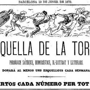 La Esquella de la Torratxa primer numero 19.1.1879