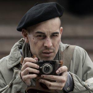 Mario Casas a 'El fotógrafo de Mauthausen'. premi especial public gaudi Filmax