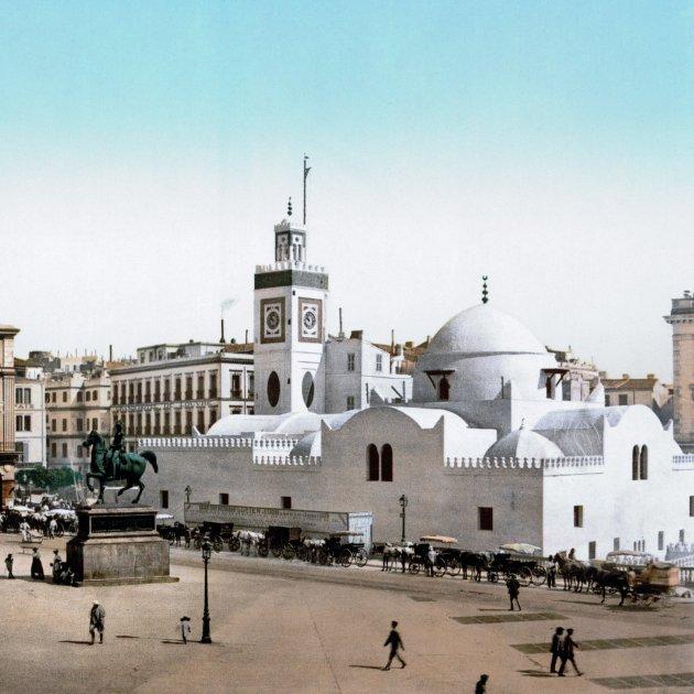 Alger colonial Place du Gouvernement les nostres riqueses' Adimi wikipedia