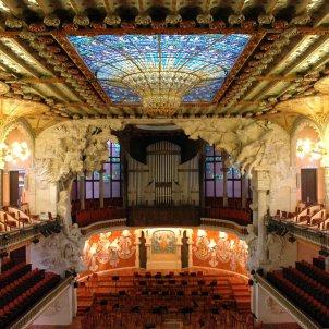 Sala de concerts del Palau de la Música. Palau de la Música