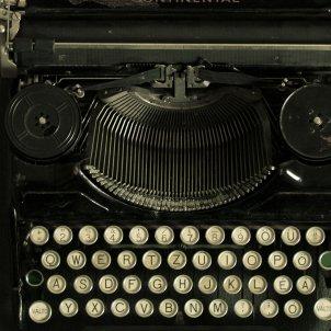 màquina d'escriure novel·la negra