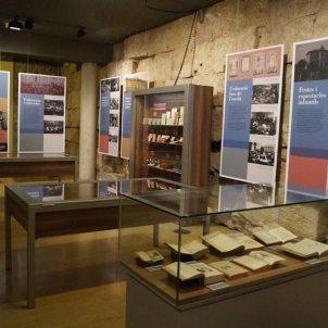 Exposició Aureli Capmany Arxiu Històric de la Ciutat Ca l'Ardiaca