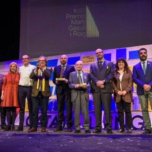 Premiats i finalistes de la cinquena edició del Premi Martí Gasull i Roig. Marc Puig