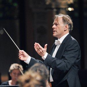 El director Thomas Hengelbrock. Palau de la Música Catalana