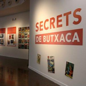 L'exposició 'Secrets de butxaca' que inaugura la BCNegra. Mar Vila ACN