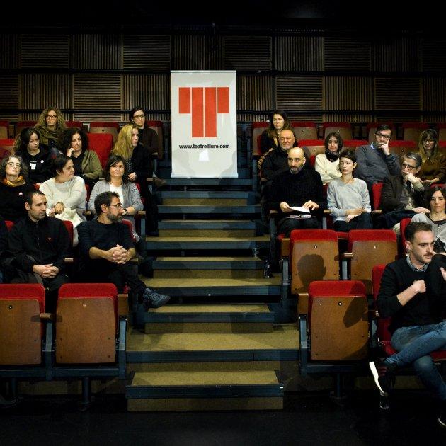 Presentació Juan Carlos Martel Ros Ribas Teatre Lliure
