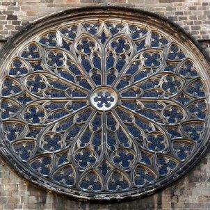 Rosassa de Santa Maria del Pi. Viquipèdia