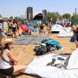 L'Acampada Jove de Montblanc, l'any passat. Núria Torres ACN