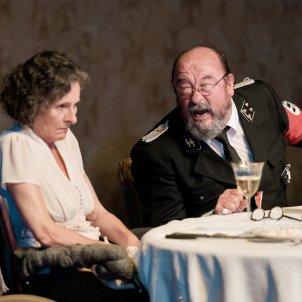 Pep Cruz i Marta Angelat a 'Davant la jubilació'. Felipe Mena Teatre Lliure