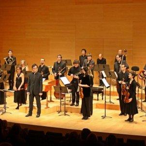 L'orquestra barroca Vespres d'Arnadí. Palau de la Música Catalana