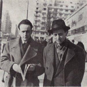 Paul Celan and Petre Solomon 1947