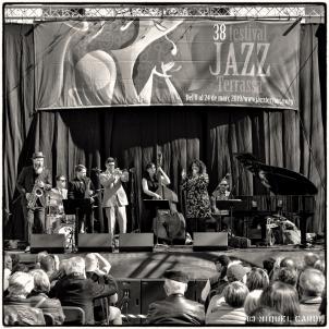 Festival de Jazz de Terrassa Rachel Ratsizafy&Shaki n´All 2019 ©MiquelCarol