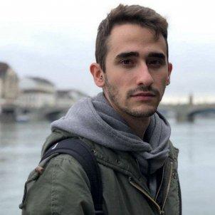 El jove guanyador del Premi Documenta 2018, Xavier Mas Craviotto. L'Altra Editorial