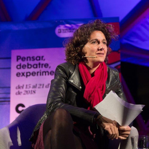 Marina Garcés CCCB, Miquel Taverna, 2018