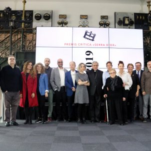 Melcior Comes Sergi Pàmies Premis Crítica Serra d'Or / ACN
