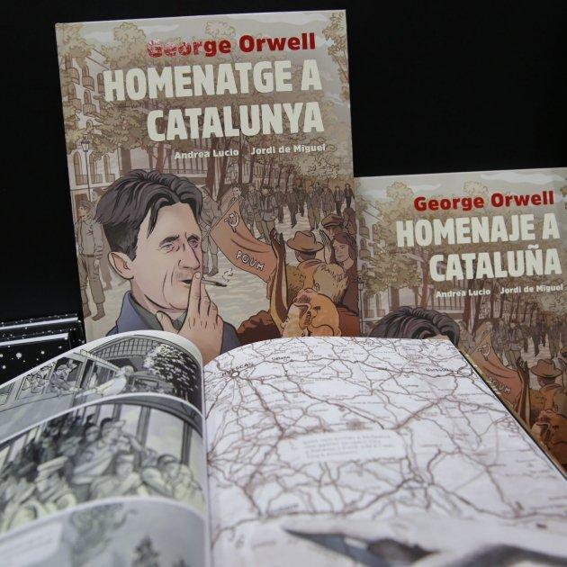 Salo del Comic 2019 Orwell Historia de Catalunya - Sergi Alcàzar
