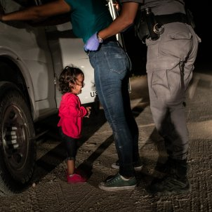 Fotografia guanyadora World Press Photo - John Moore/Getty Images