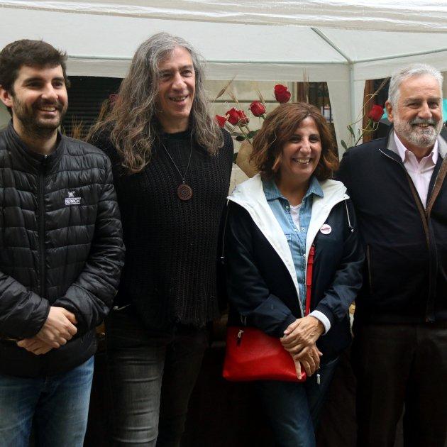 Sant Jordi Gerard Quintana Marc Artigau Silvia Sole Rafel Nadal ACN