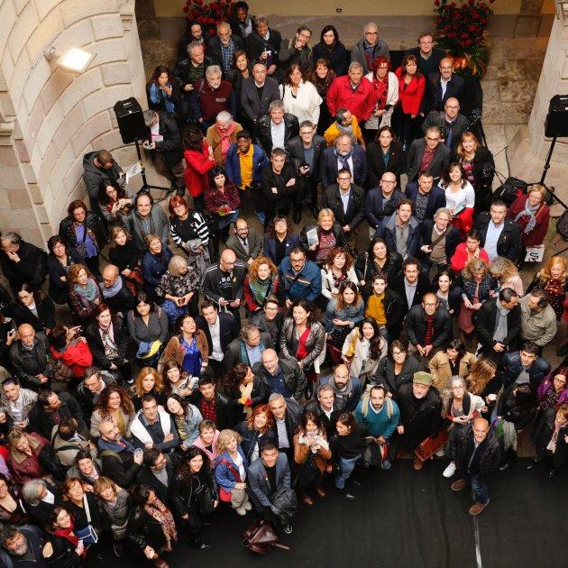Trobada autors Sant Jordi Palau de la Virreina Sergi Alcàzar